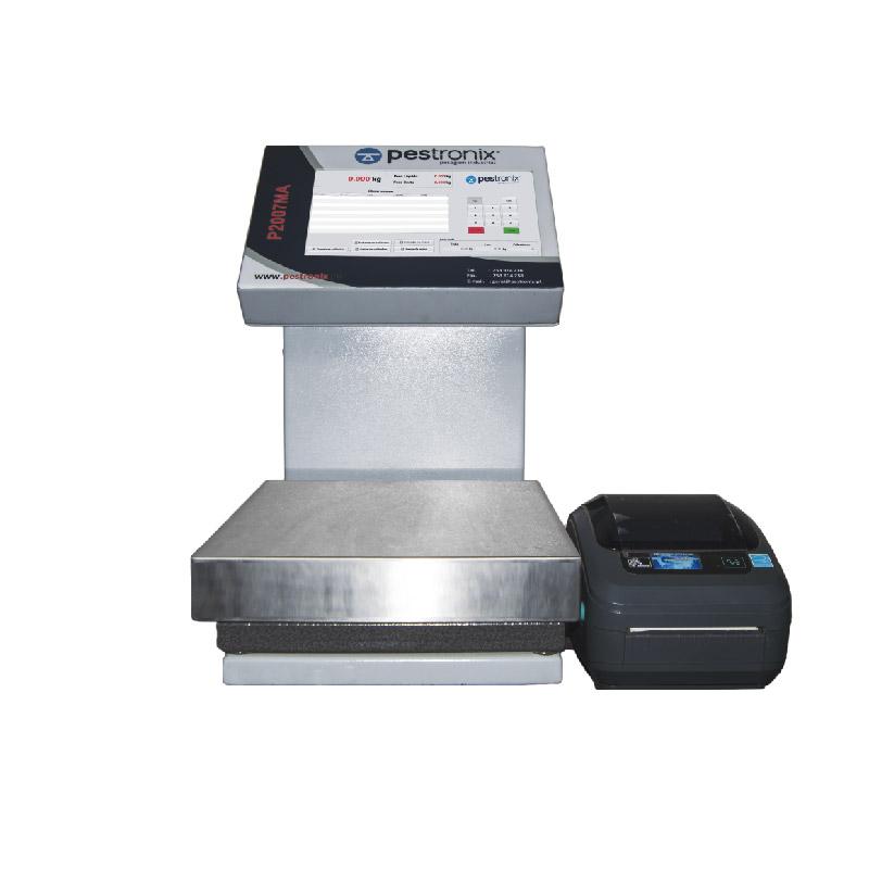 sistemas de pesagem e etiquetagem